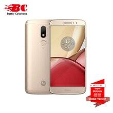 Оригинальный Motorola Moto M XT1662 мобильный телефон 4 г LTE MTK helio P15 Octa Core 5.5 «4 г Оперативная память 32 г Встроенная память Android 6.0 16.0 PM смартфон