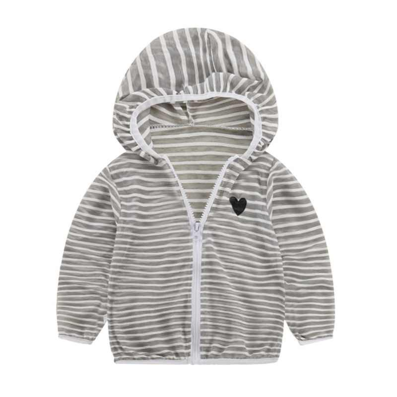2018 Spring Autumn Jacket for Kids Baby Girls Boys Clothing Coat Long Sleeve Striped Baby Coats