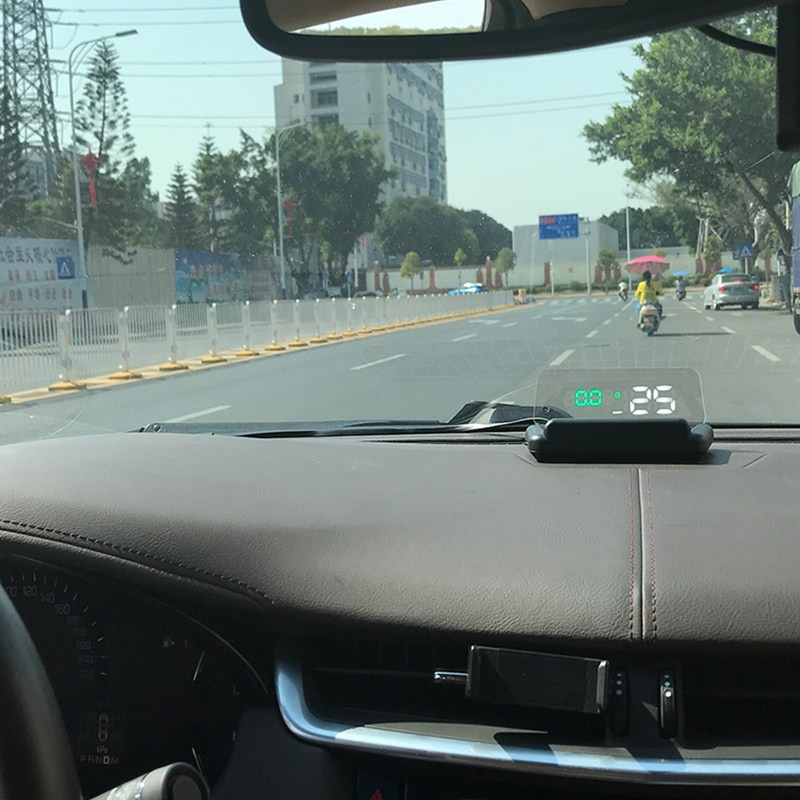 Image 5 - GEYIREN Original C500 OBD2 Hud Head Up Display With Mirror Projection Digital Car Speed Projector On Board Computer Fuel Mileage-in Head-up Display from Automobiles & Motorcycles