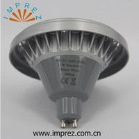 จัดส่งฟรี15วัตต์GU10 AR111 SMDไฟLEDหลอดไฟจุดCRI 81 110โวลต์120โวลต์Dimmable Warmwhite Coldwhiteขายส่ง