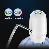 Taşınabilir Otomatik Mini Su Dağıtıcıları Su pompalı dağıtıcı USB Şarj Şişe Kablosuz Elektrikli Çift Pompa Ev için