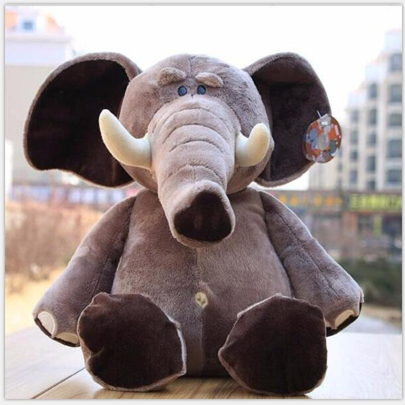 Brand Jungle Brothers Plush Stuffed Toy Elephant Animals for Kid's Gifts,10 25cm,1PC