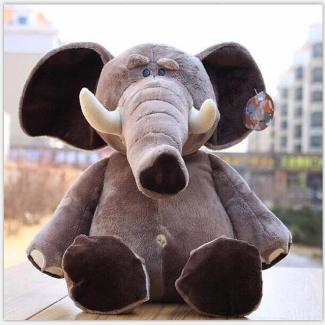"""Marca Irmãos Selva Animais de Pelúcia Elefante De Brinquedo para Presentes do Miúdo, 10 """"25 cm, 1 PC"""
