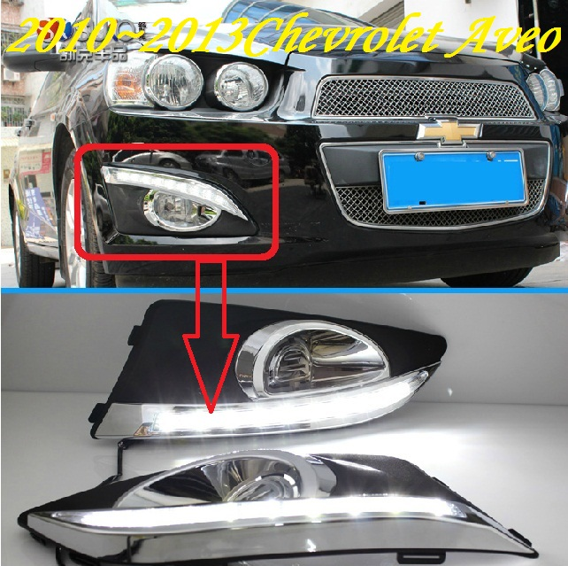 Chevrole Ave daytime light,2011~2013/2015~2017;Free ship!LED,Ave fog light,silverado,sonic,sonora,sprint,ss,ssr,suburban 2013 2016 chevrole trax daytime