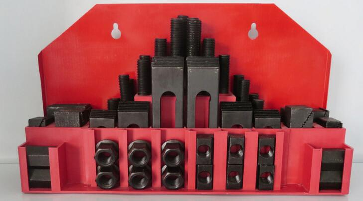 58pcs/set M12 Clamping Kit combination plate for milling machine цена и фото