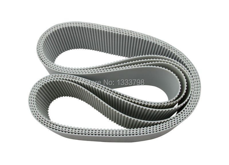 Cheap price factory direct sale 50-AT15-1950 closed loop pu timing belt with steel code inside 15mm width t5 steel core endless timing belt closed loop pu belt