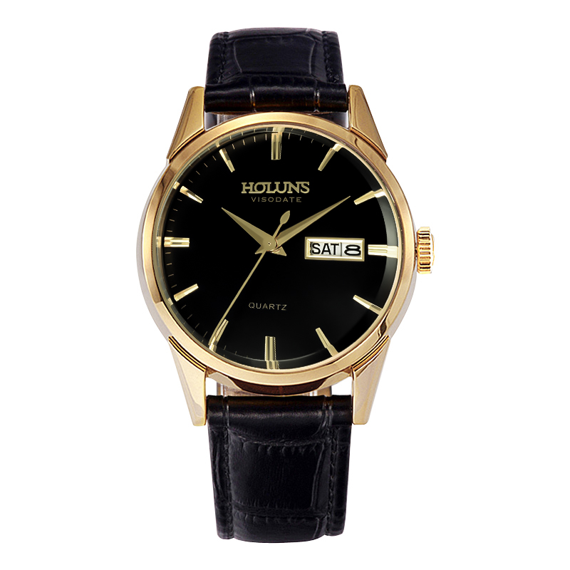 Luxury Top Brand Gold Steel Men's Quartz Wristwatch Fashion Casual Dress Business Sport Simple Watch Men Clock Relogio Masculino rosra brand men luxury dress gold dial full steel band business watches new fashion male casual wristwatch free shipping