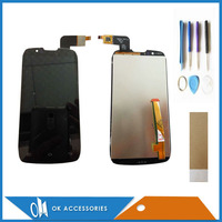 100 HQ For DNS S4502 D9 LCD Display Touch Screen Digitizer Assembly Black Color 1PC Lot