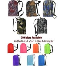 Ten Seconds Banana Sleeping Bag Camping Air Sofa Hangout Lazy Bag Inflatable Air Bed Waterproof Beach Bed Laybag