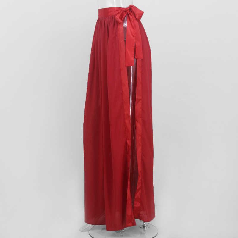 8c31a4035e ... Evaqueen Chiffon beach skirt Sexy beach cover up women's sarong summer  bikini cover-ups wrap ...