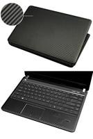 KH Laptop Carbon Fiber Leather Sticker Skin Cover Protector For Toshiba Portege Z30T Z30 Z30T B