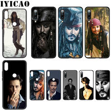 IYICAO johnny depp captain Jack Soft Case for Xiaomi Mi 6 8 9 SE A1 A2 Lite F1 9T A3 Pro CC9E CC9 MAX 3 5X 6X Cover(China)