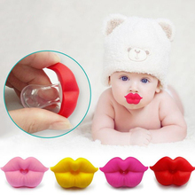 New Fashion Funny Dummy Dummies Pacifier Novelty Lips Babys Child Soother Nipples Kids Gift Safe 5 color