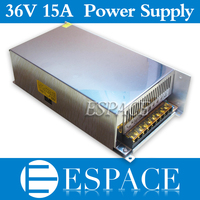 Best Quality 36V 15A 540W Switching Power Supply Driver For CCTV Camera LED Strip AC 100