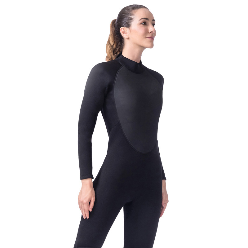 LIFURIOUS 3MM Women Diving Suit Full Body Neoprene Surfing Wetsuits Rash Guards Jumpsuit Swimming Equipment Keep Warm