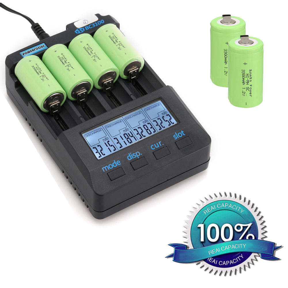 Anmas power!new goods !15pcs sub c SC battery Ni-Cd battery rechargeable battery 56 g 3300mh with tab-green color 4.25CM*2.2CM