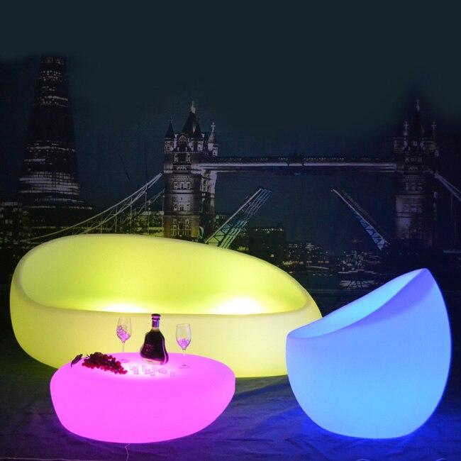 Skybess SK LF28S (L89 * W89 * H26cm) перезаряжаемые светодиодный барная стойка LLDPE Polythylene Материал мебель для дома Настольный для события вечерние 1 шт.