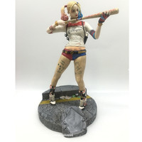 Statue Suicide Squad Harley Quinn Bust Harleen Quinzel The Joker Full Length Portrait Resin Action Figure Collectible Model Toy