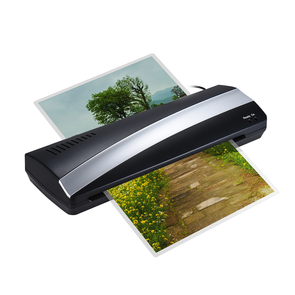 A3 13inch Width Photo Paper Hot and Cold Thermal Laminator Machine Quick Warm-up Fast Laminating Speed with Pouch Board for A4 5 стоимость