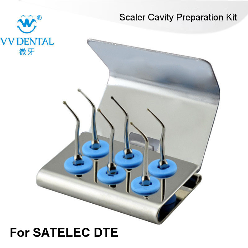 2 SETS SCKS Scaler Cavity Preparation Tips Kit SATELC DTE GNATUS NSK HU-FRIEDY FOR KIDS DENTISTRY BY DENTAL PRODUCTS CHINA 1 set kackg dental scaler tips kit for oral hygiene kids for dental cavity fit air scalers kavo nsk sirona w