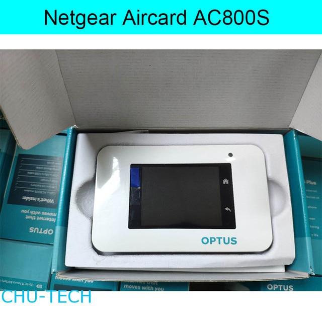DESBLOQUEADO Netgear Aircard AC800S Cat 9 4G LTE Mobile Hotspot Wi fi  Router Modem