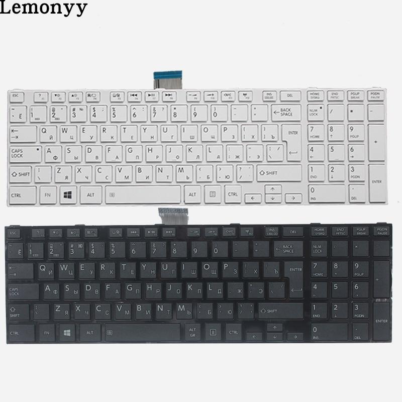 RU Keyboard for Toshiba Satellite C50D C50-A C50-A506 C50D-A C55T-A  C55-A C55D-A Russian Laptop Keyboard white/blackRU Keyboard for Toshiba Satellite C50D C50-A C50-A506 C50D-A C55T-A  C55-A C55D-A Russian Laptop Keyboard white/black