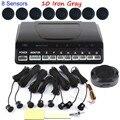 Датчик Парковки 8 Датчика Обратный Резервный Радиолокатор Система Помощи При Парковке Для Передний Задний авто автомобиль звуковой сигнал 44 цветов