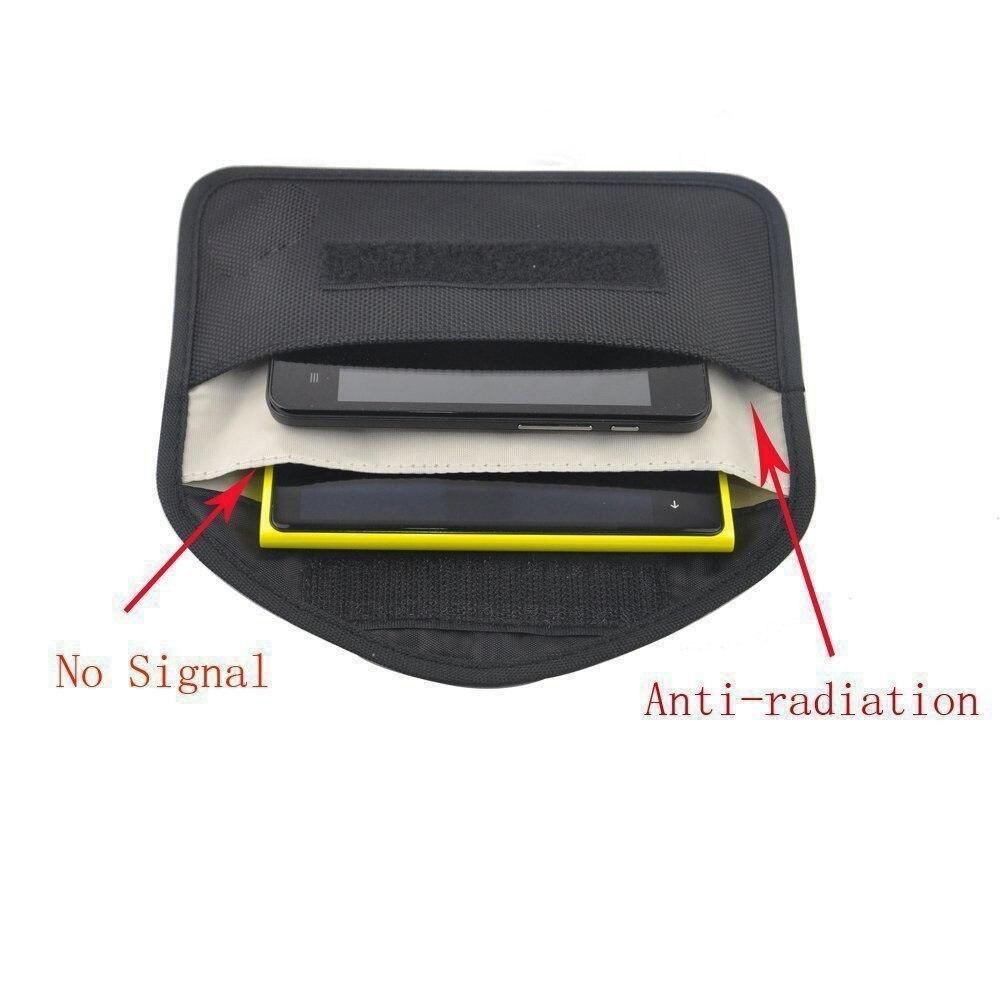 Новый GSM 3g 4 г LTE gps РФ RFID сигнала Блокировка сумка Анти-излучения сигнала Экранирование чехол бумажник для сотового телефона 6 дюймов