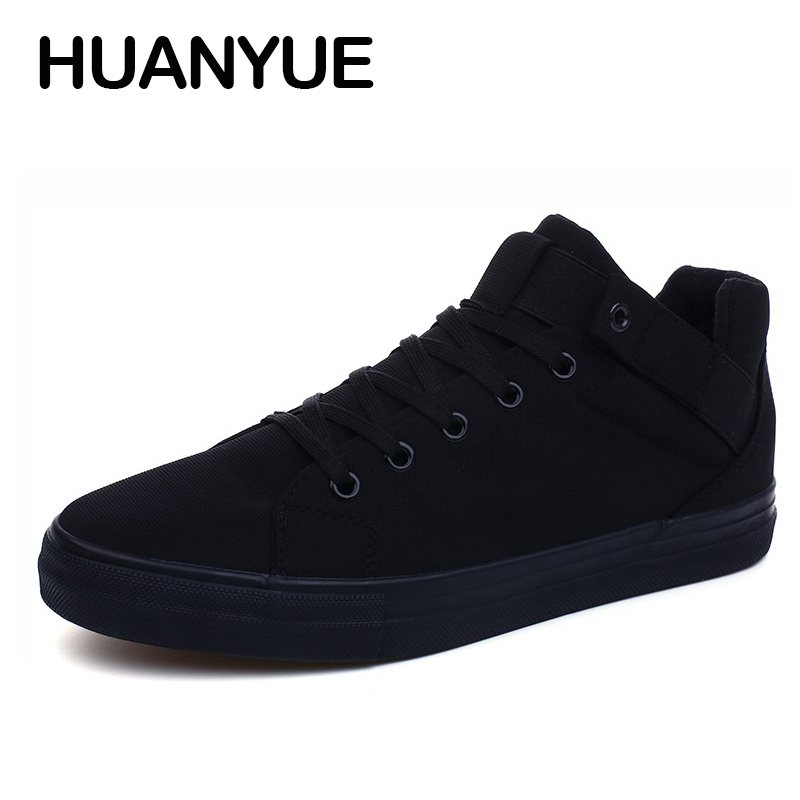 2018 Spring/Summer Canvas Men Shoes High-Top Breathable Men Casual Shoes White Sneakers Lace-Up Flat Shoes For Male Espadrilles цена