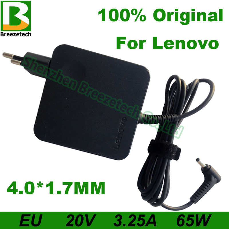 EU 20V 3 25A 65W 4 0 1 7mm AC Laptop Adapter For Lenovo B50-10 IdeaPad 120s-14 100-14 100-15 Yoga 510-14 710-13 Air 12 13 15