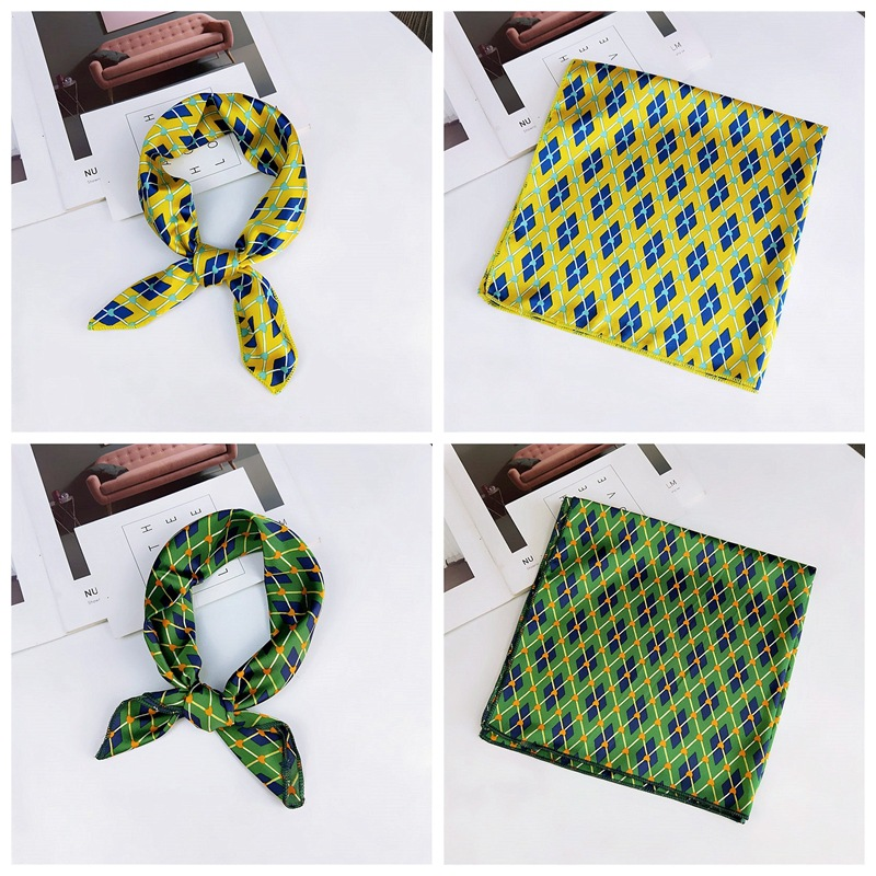 HTB1sSQxbozrK1RjSspmq6AOdFXa9 - fashion Square Scarf Hair Tie Band Party Women Elegant Small Vintage Skinny Retro Head Neck Silk Satin Scarf, square scarves