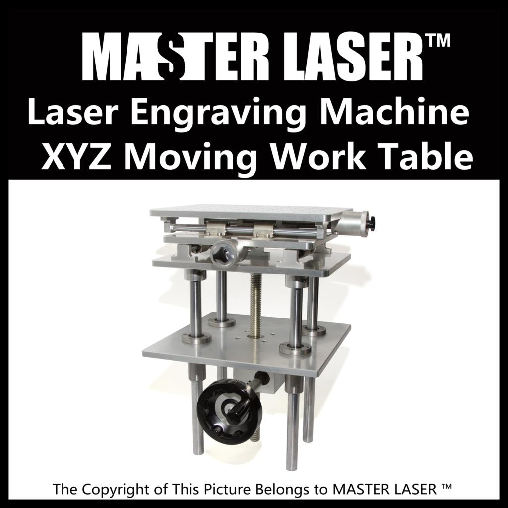 Separate 3 Axis Moving Table Laser Marking Engraving Machine  330*250mm 300 mm  Height Adjust Portable Cabinet  XYZ AXIS Table high quality southern laser cast line instrument marking device 4lines ml313 the laser level