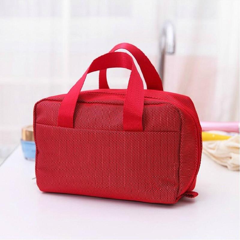 Fashion Portable Oxford Travel Bag Multi Function Hand Bag For Travel 19*8*12cm