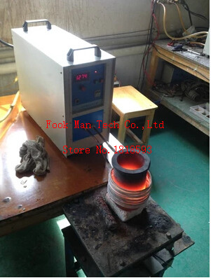 все цены на Jewelry Making Equipment High Frequency 220V 15KW 2kg Gold CAPACITY Induction Mini Melting Furnace онлайн
