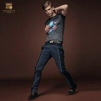 الشحن مجانا الصيف جديد أزياء الرجال الذكور ضئيلة عارضة قصيرة الأكمام الطباعة t-shirt قميص الكبس سليم 15641 طن ترويج