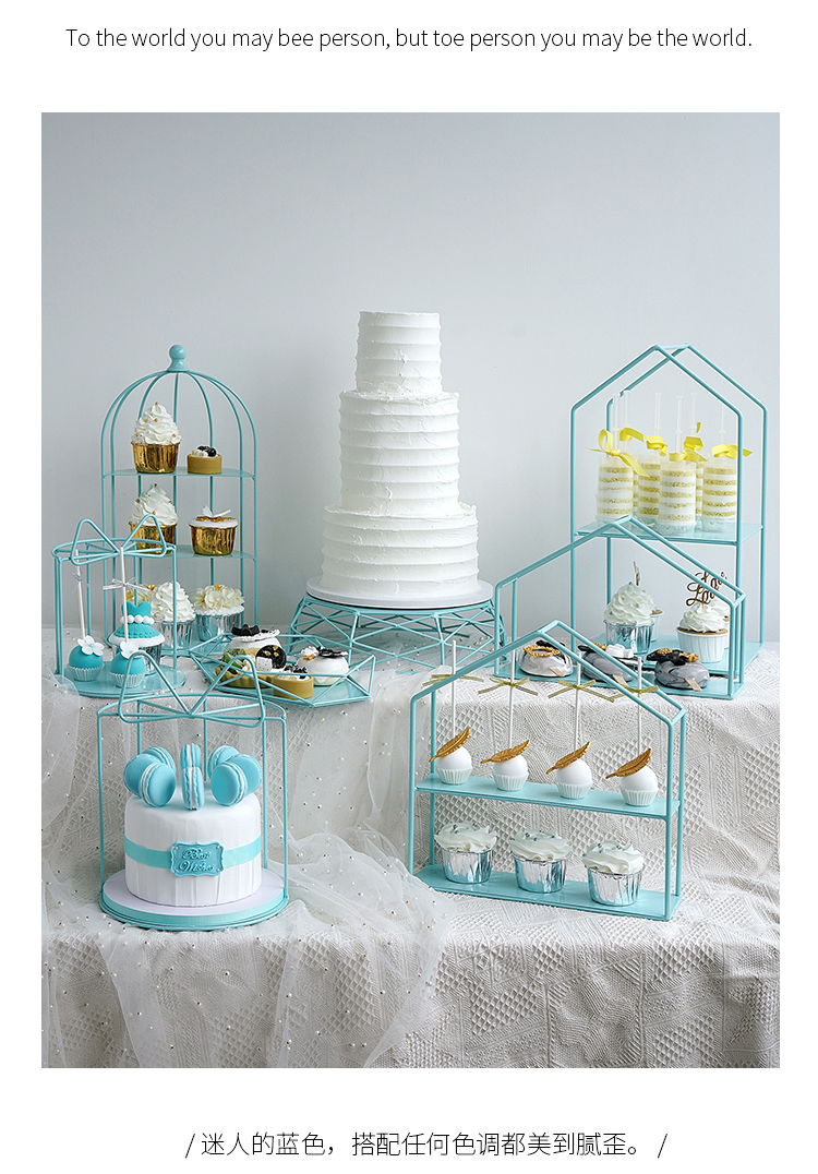 Cool Tiffany Blue Princess Wedding Table Cake Decor Birthday Cake Funny Birthday Cards Online Alyptdamsfinfo