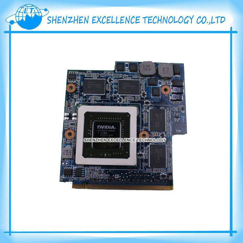 FREE SHIPPING For ASUS G60VX MXM VGA G51VX G51V G60VX REV 2.1 P/N 60-NV3VG1000-D01 GTX 260M Video card G92-751-B1 with 1GB RAM