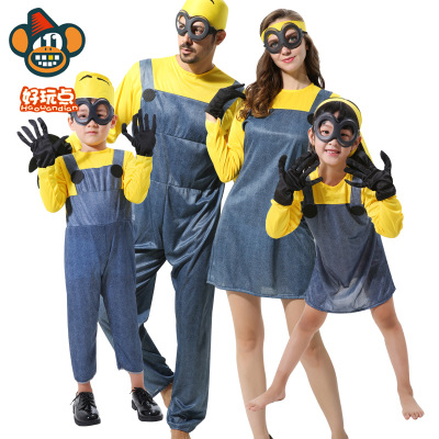 Anime cosplay Minions Costume Minions clothes for Kids Small yellow people clothes Halloween Minions costume for women-in Boys Costumes from Novelty ...  sc 1 st  AliExpress.com & Anime cosplay Minions Costume Minions clothes for Kids Small yellow ...