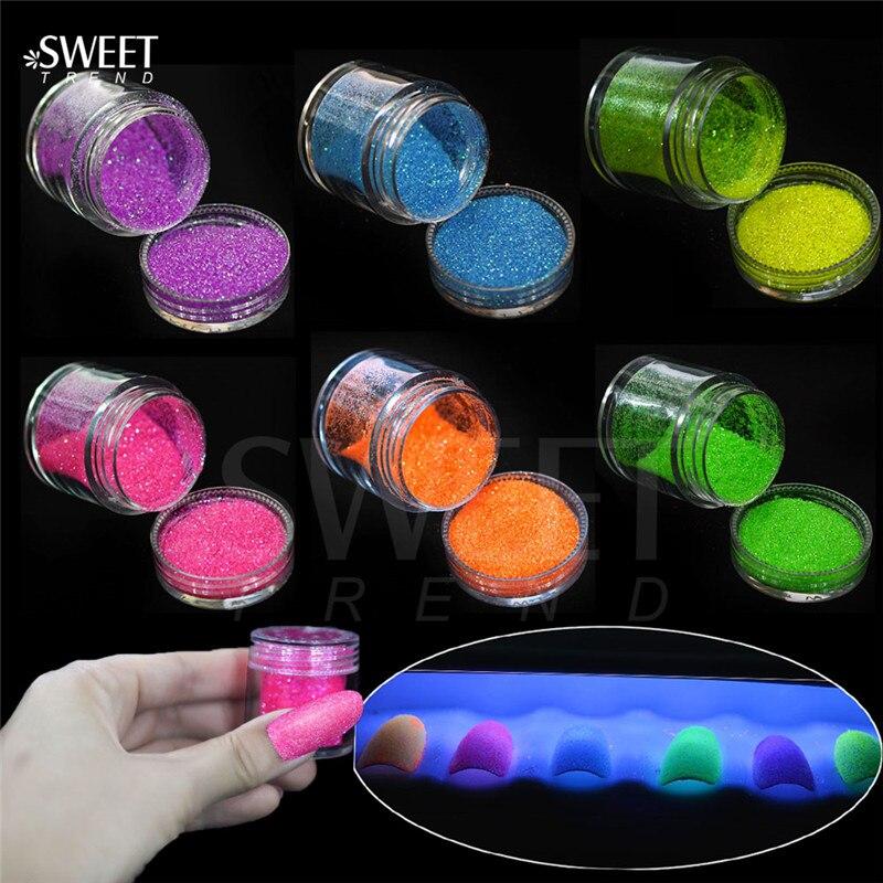 Schönheit & Gesundheit Ernst 1 Flasche Leuchtstoff Neon Pigment Pulver Für Nagellack Diy Glänzende Nagel Pulver Staub Glitter Pailletten Nail Art Decor Layg01-06 Zu Den Ersten äHnlichen Produkten ZäHlen