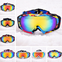 Marsnow Men Ski Goggles Professional Snowboard Goggle Winter UV400 Anti fog Glasses Snowmobile Polarized Eyewear Doubles Lenses