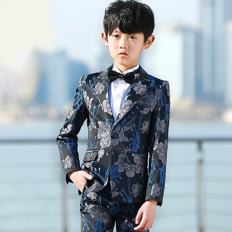 Nueva marca de chaqueta niños conjunto de niños traje de bebé guapo niños  chaqueta para bodas 4ecfd2c44379