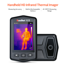 Portable Infrared Thermometer Professional Handheld HD Thermal Imager IR Device Imaging Tool