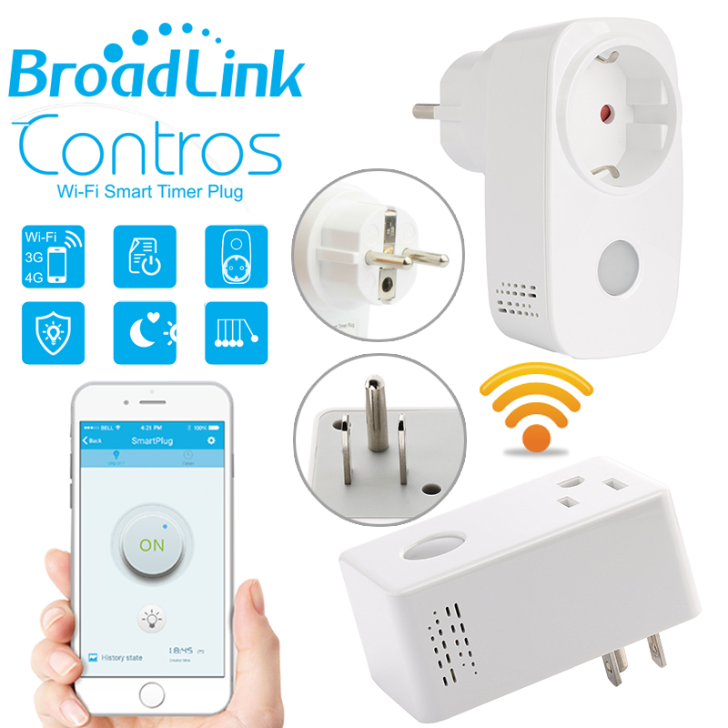 Broadlink Smart Home 16A Timer EU US Wifi Power Socket Plug Outlet Wireless Remote Controls by