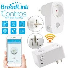 Broadlink Casa Inteligente Wifi Toma De Corriente 16A + Timer UE EE.UU. Enchufe, Controles Remotos inalámbricos por iOS Android domotica