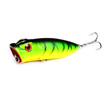 1 PC Popper Memancing Lure Plastik Isca Umpan Keras Buatan 7 Cm 11.5G Pesca Carp Swimbait Mengambang Wobblers Umpan fishing Tackle(China)