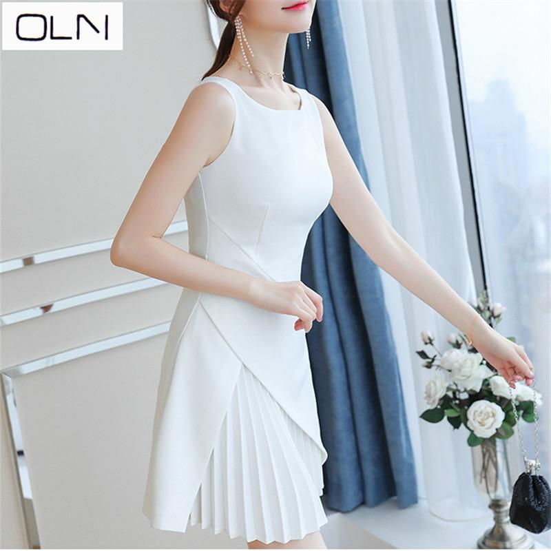 Dress OLN Popular Retro Ins Super Fire Dress First Love Fairy Sukol Girl Chic Dress Summer Vestidos