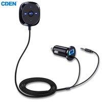 Громкой связи Bluetooth Car Kit модулятор fm-передатчик с USB Charger MP3 плеер Поддержка USB SD карты 3,5 мм Aux