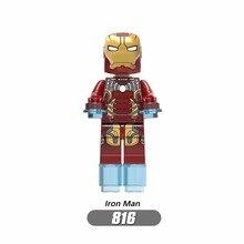 3 Infinito Guerra Homem de ferro vingadores Thanos Maravilha DC Super Herói Blocos de Construção Compatível com LegoINGly Batmam Brinquedo para Crianças
