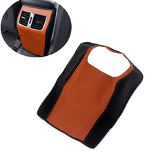 Car Central Armrest Anti-dirty Pad Leather mats For Hyundai Tucson 2015 2016 2017 2018 Accessories
