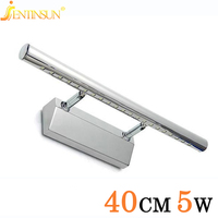 2015 5W Bathroom LED Mirror Led Wall Lamp Light SMD5050 Mini Style Warm White LED Modern